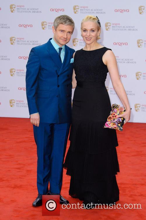 Martin Freeman and Amanda Abbington 3