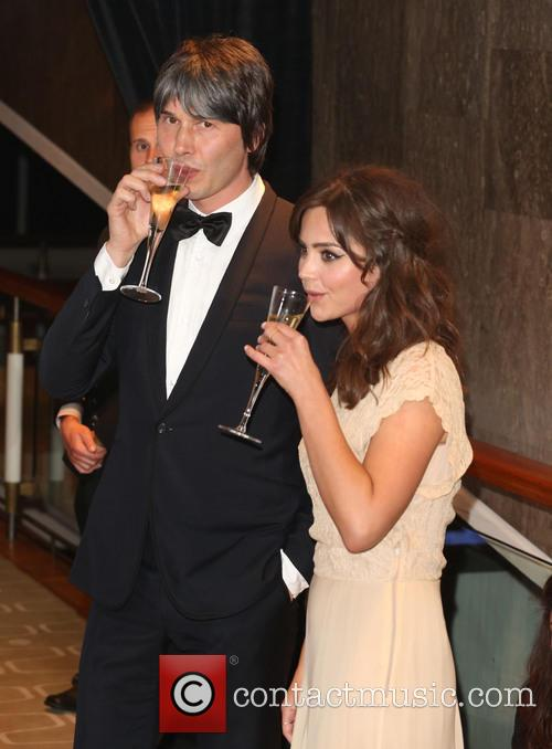 Brian Cox and Jenna-louise Coleman 1