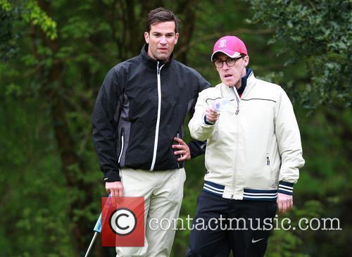 Gethin Jones and Rob Brydon 7