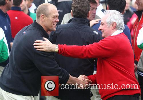 Mike Tindall and Gareth Edwards 1