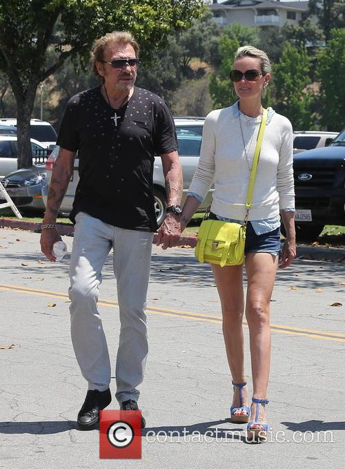 Johnny Hallyday, Laeticia and Studio City 2