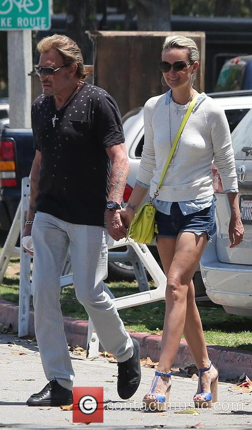 Johnny Hallyday, Laeticia and Studio City 4