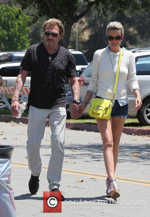 Johnny Hallyday, Laeticia and Studio City 6