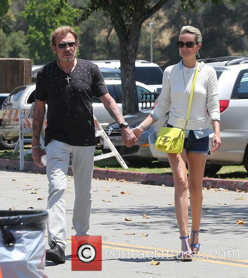 Johnny Hallyday, Laeticia and Studio City 9