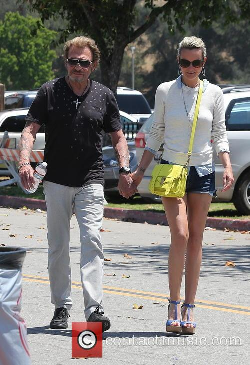 Johnny Hallyday, Laeticia and Studio City 10