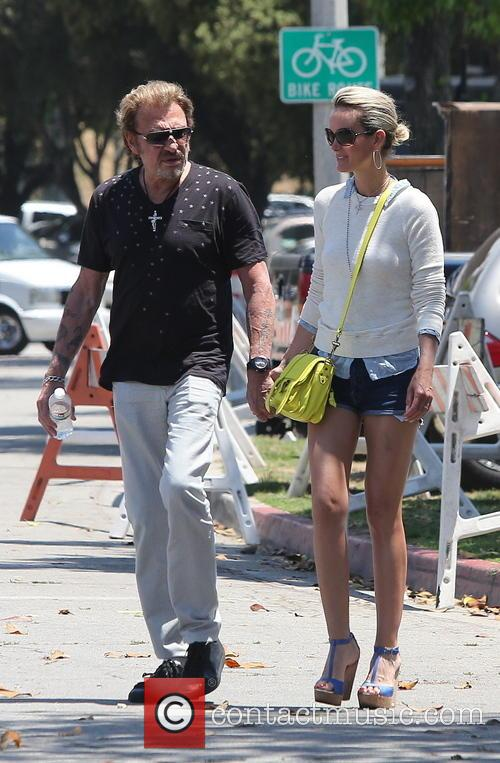 Johnny Hallyday, Laeticia and Studio City 1