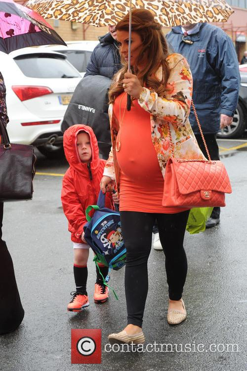 Coleen Rooney and Kai Rooney 4