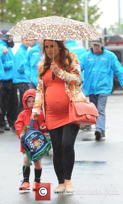 Coleen Rooney and Kai Rooney 5
