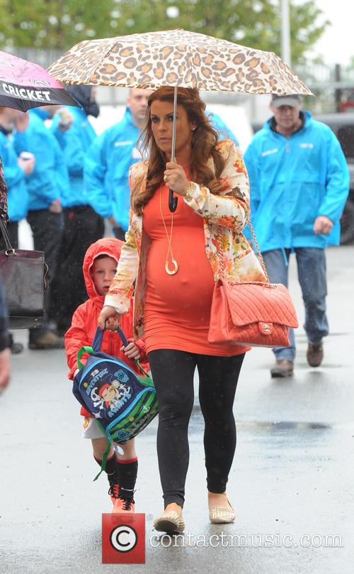 Coleen Rooney and Kai Rooney 6