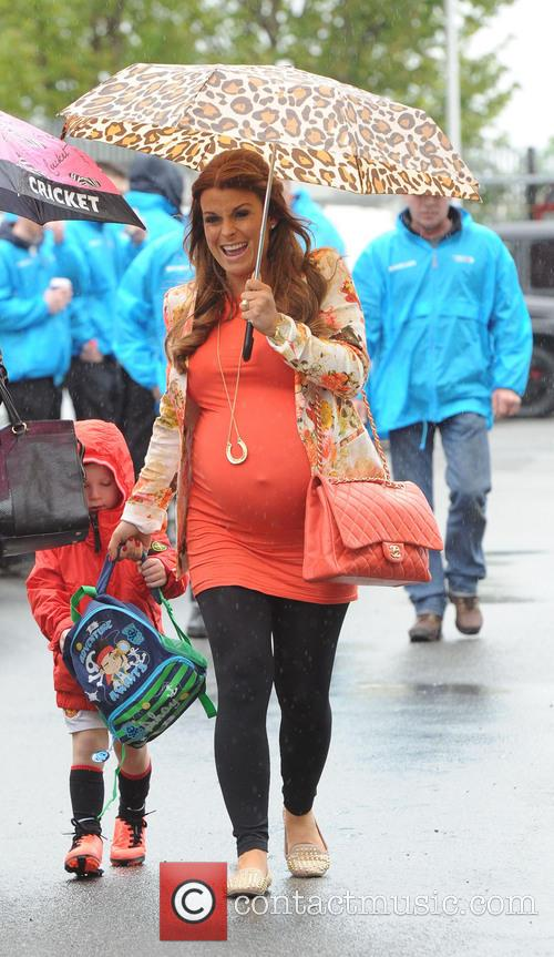 Coleen Rooney and Kai Rooney 1
