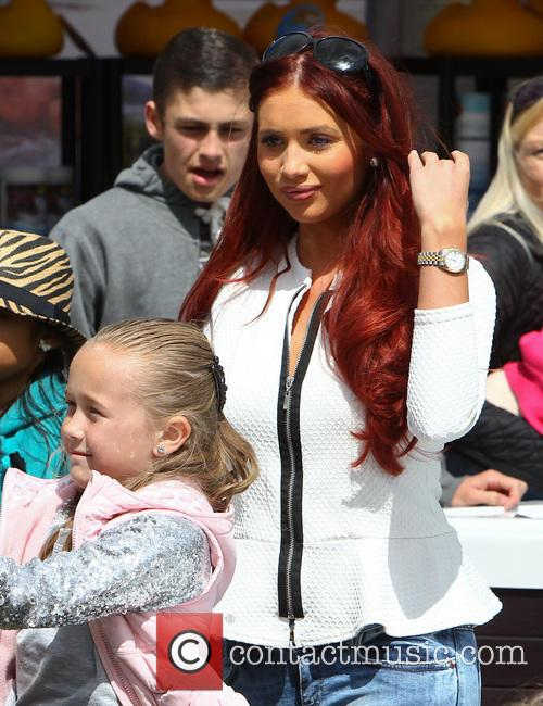 Amy Childs at the Essex Robin Hood Country...