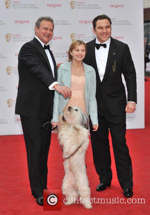 Tayla Butler, David Walliams and Hugh Bonneville 4