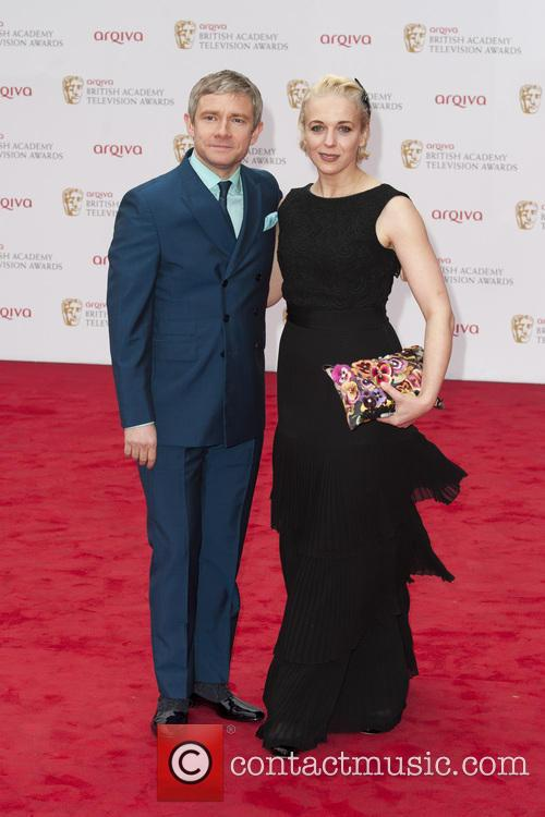 Martin Freeman and Amanda Abingdon 5