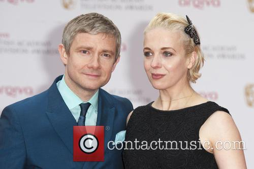 Martin Freeman and Amanda Abingdon 6