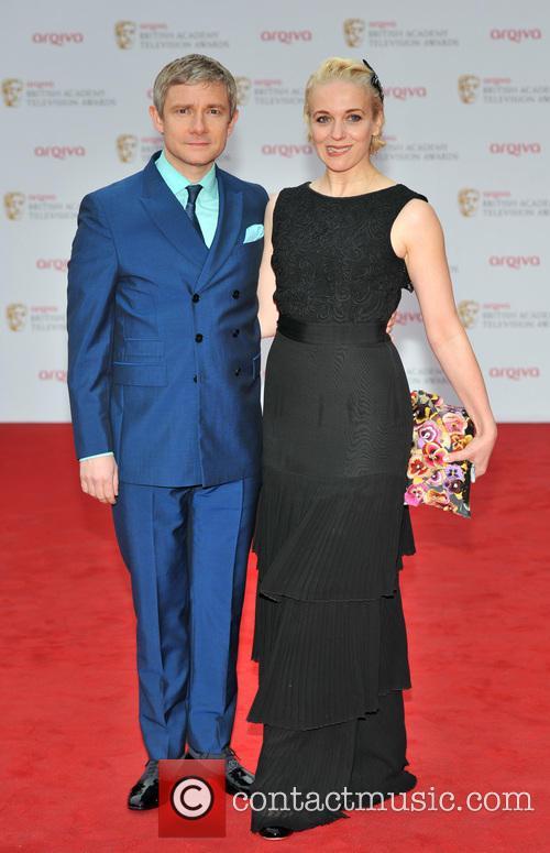 Martin Freeman and Amanda Abbington 8