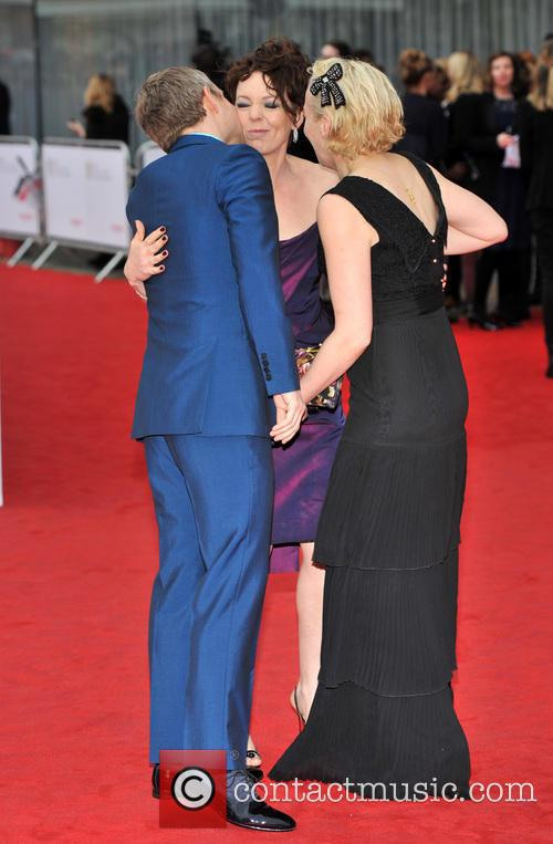 Marton Freeman, Olivia Colman and Amanda Abbington 2