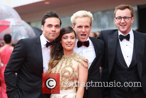 Andy Jordan, Louise Thompson, Jamie Laing and Francis Boulle 8