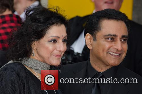 Meera Syal and Sanjeev Bhaskar 8
