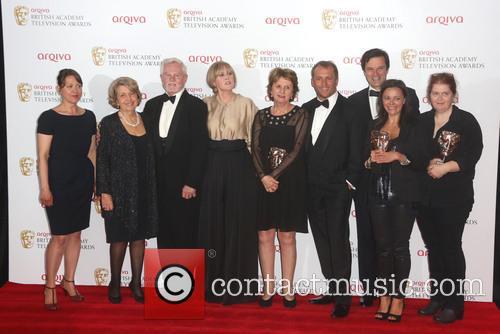Euros Lyn, Nicola Walker, Anne Reid, Derek Jacobi, Sarah Lancashire, Karen Lewis, Nicola Shindler, Tony Gardner and Sally Wainwright 2