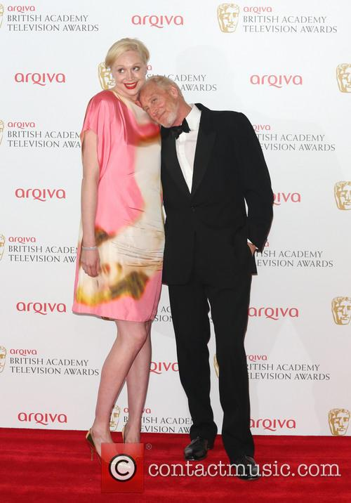 Gwendoline Christie and Charles Dance