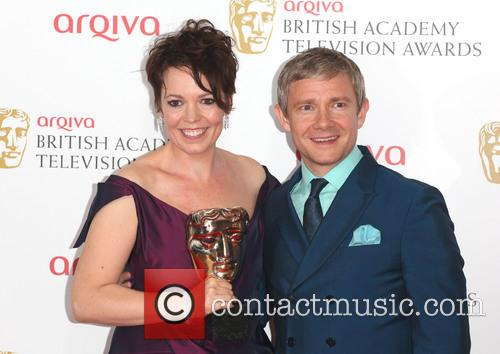 Olivia Colman and Martin Freeman 5
