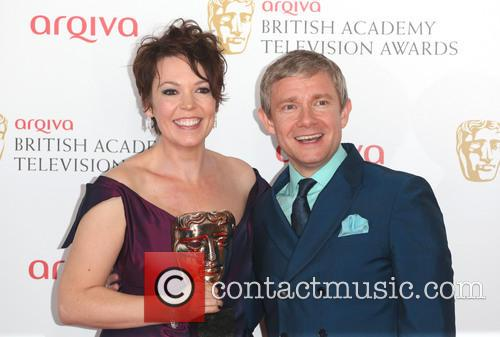 Olivia Colman and Martin Freeman 7