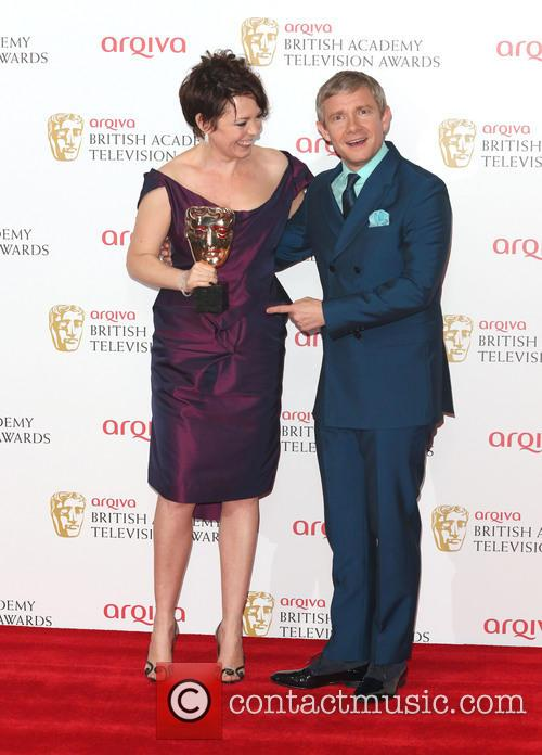 Olivia Colman and Martin Freeman 8