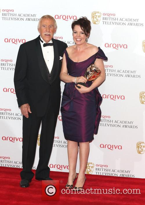 Bruce Forsyth and Olivia Colman 3