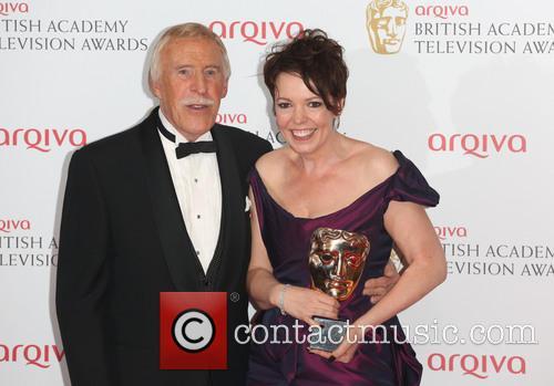 Bruce Forsyth and Olivia Colman 4