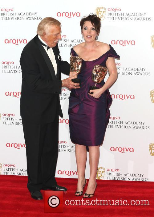 Bruce Forsyth and Olivia Colman 1