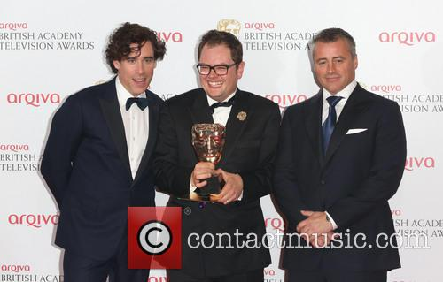 Matt Le Blanc, Stephen Mangan and Alan Carr 2