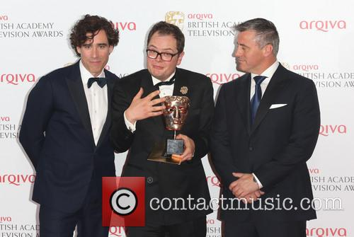 Matt Le Blanc, Stephen Mangan and Alan Carr 4