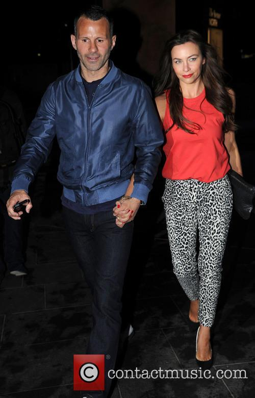 Ryan Giggs and Stacey Giggs 1