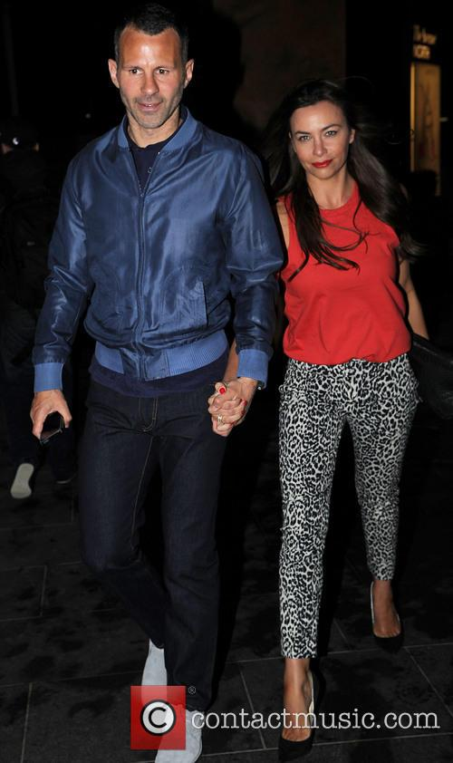 Ryan Giggs and Stacey Giggs 2