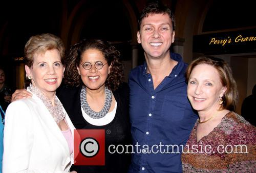 Adrienne Arsht, Anna Deavere Smith, Warren Carlyle and Guest 4