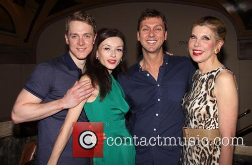 Shonn Wiley, Irina Dvorovenko, Warren Carlyle and Christine Baranski 4