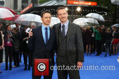 Michael Fassbender and James Mcavoy 6