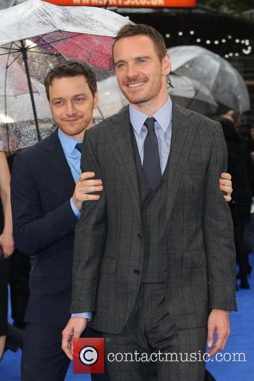Michael Fassbender and James Mcavoy 7