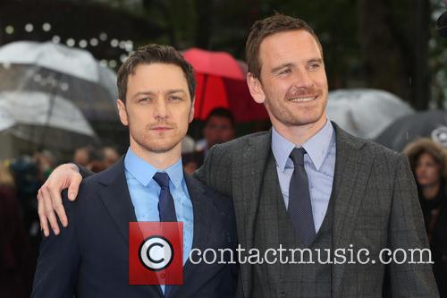 Michael Fassbender and James Mcavoy 10