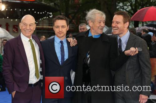 Sir Patrick Stewart, James Mcavoy, Ian Mckellen and Michael Fassbender 10