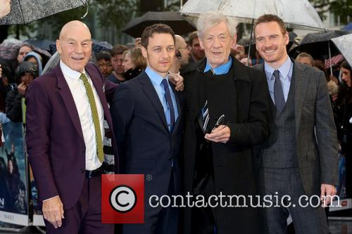 Sir Patrick Stewart, James Mcavoy, Ian Mckellen and Michael Fassbender 11
