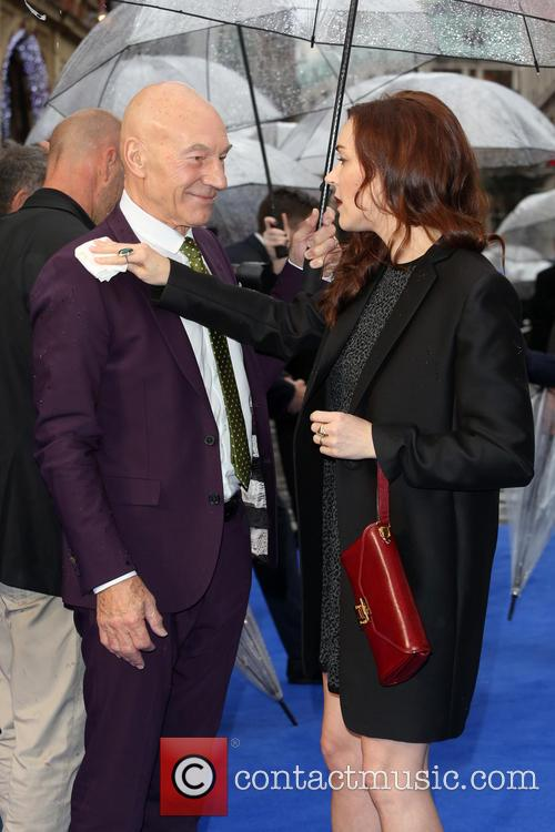 Sir Patrick Stewart and Sunny Ozell 8