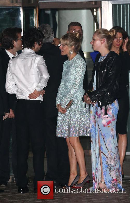 Sienna Miller, Savannah Miller and Ben Whishaw 4