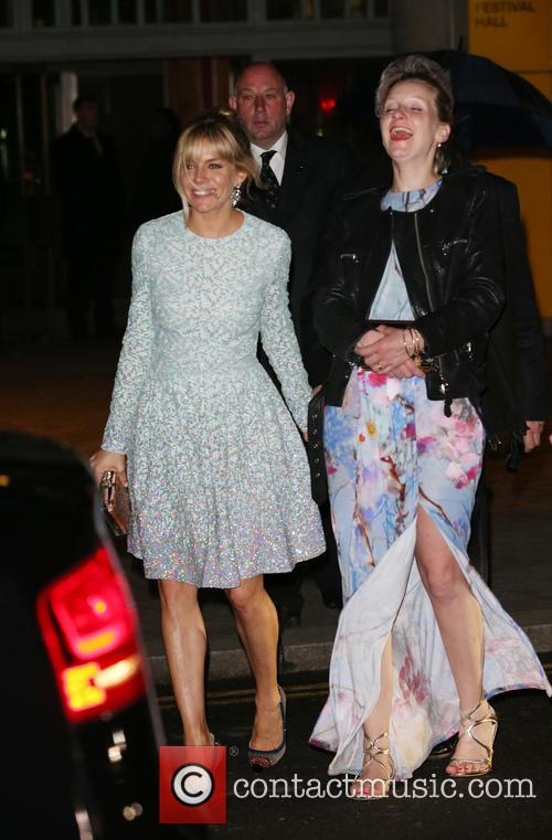 Sienna Miller, Savannah Miller, Royal Festival Hall