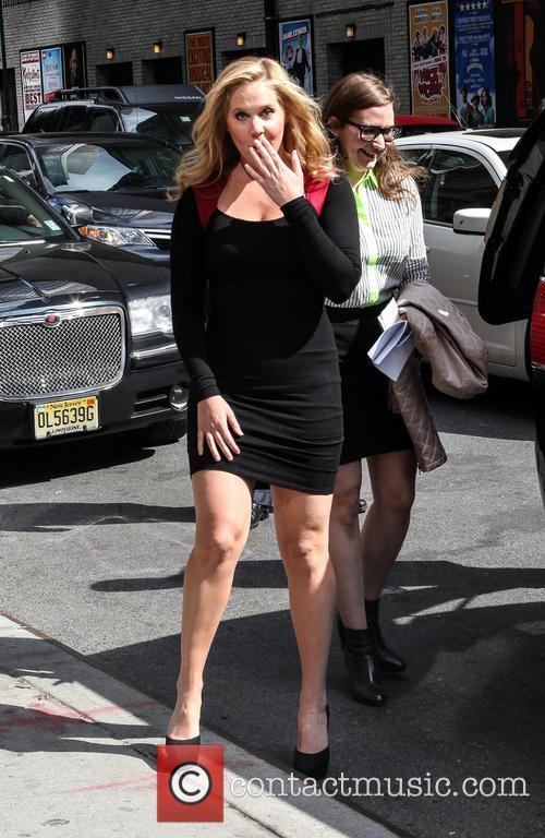 Amy Schumer, Ed Sullivan Theater, The Late Show