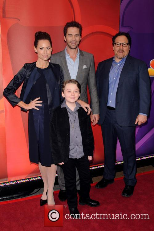 Minnie Driver, David Walton, Benjamin Stockham and Jon Favreau 4