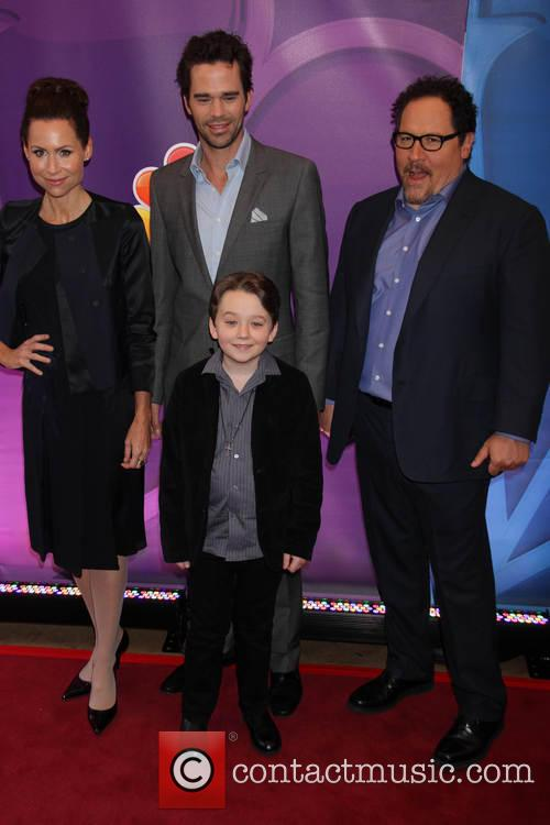 Minnie Driver, David Walton, Benjamin Stockham and Jon Favreau 6