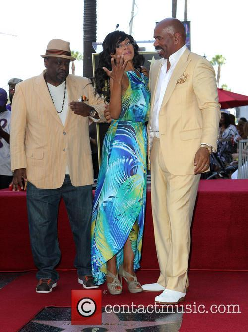 Cedric The Entertainer, Wendy Raquel Robinson and Steve Harvey 5