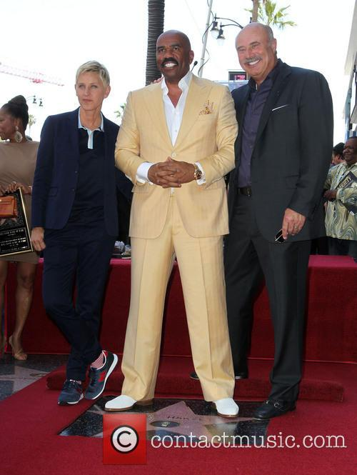 Ellen Degeneres, Steve Harvey and Dr. Phil Mcgraw 2