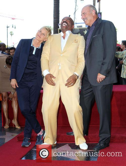 Ellen Degeneres, Steve Harvey and Dr. Phil Mcgraw 5